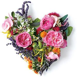 heart-bouquet